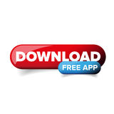 Download App button vector Stock Image