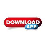 Download App button vector Royalty Free Stock Images