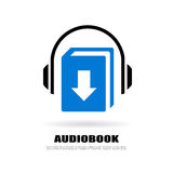 Download audiobook icon Royalty Free Stock Photos