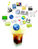 Download Box  file Stock Images