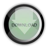 Download button Royalty Free Stock Photo
