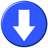 Download Button Royalty Free Stock Image