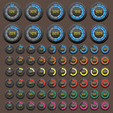 Download button icon Royalty Free Stock Image