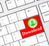 Download concept Royalty Free Stock Image