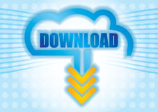 Download concept. Stock Images
