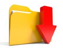 Download folder. Royalty Free Stock Images