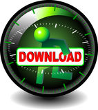 Download GO!. Button to download the file Royalty Free Stock Photography