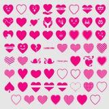 Hearts i love you vectors. Download Hearts i love you vectors new 2018 Royalty Free Illustration