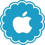 Iphone Icon Social Media Download. Download Icon iphone Victor Social Media stock illustration