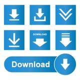 Download icons bottons website set. Download icons bottons website design illustration vector icon botton web set eps stock illustration
