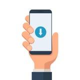 Download mobiel symbool vector illustratie