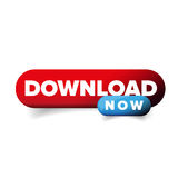 Download Now button vector Stock Images