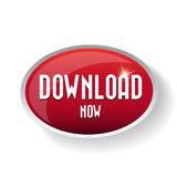 Download now button. Royalty Free Stock Image