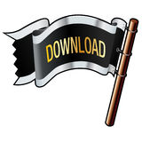 Download pirate flag Stock Photography