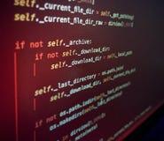 Download, programmeertaal stock fotografie