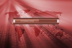 Download progress bar Stock Photos