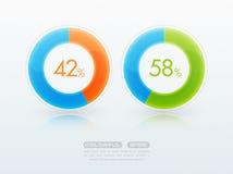 Download progress bar Stock Image