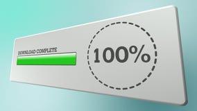 Download Progress Complete Stock Image