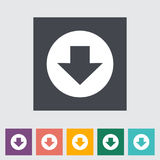 Download. Single flat icon Vector illustration Royalty Free Stock Photo