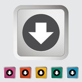 Download. Single icon Vector illustration Royalty Free Stock Photo