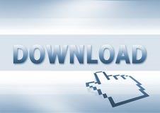 Download-Taste Stockfotografie