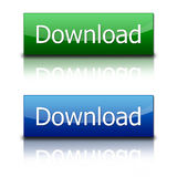 Download-Tasten Stockbild