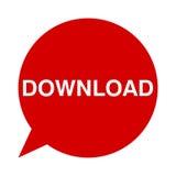 Download, Toespraakbellen vector illustratie