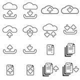 Download & Upload Line Icon. Download & Upload Line Icon Vector Stock Photos
