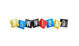 Download word banner Stock Photos