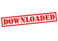downloaded Fotografia de Stock Royalty Free