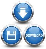 Downloadikone Lizenzfreie Stockfotos