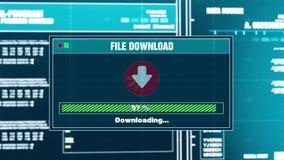 89. Downloading Files Progress Warning Message Download Complete Alert On Screen. 89. Downloading Files Progress Warning Message Download Complete Alert on royalty free illustration