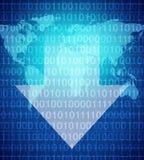 Downloading und Digital-Verteilung Lizenzfreie Stockfotos