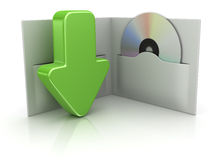 Downloadingkonzept Stockfotos