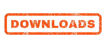 Downloads Rubber Stamp royalty free illustration