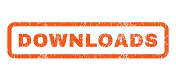 Downloads Rubberzegel royalty-vrije illustratie