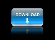 Downloads Web Button Royalty Free Stock Photos