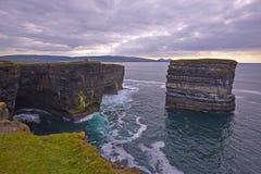 Downpatrick Head, North Mayo. Royalty Free Stock Photos