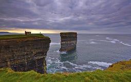 Downpatrick Head, North Mayo. Royalty Free Stock Image