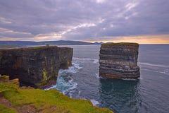 Downpatrick Head, North Mayo. Stock Image