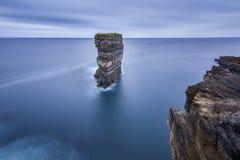 Downpatricks huvud på Irland, natur arkivfoto