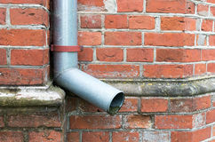 Downpipe Royalty Free Stock Photography