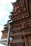 Downpipe in Vladimiri Royalty Free Stock Images