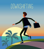 Downshifting Stock Image