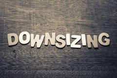 downsizing Photographie stock libre de droits