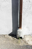 Downspout drain pipe Stock Photos