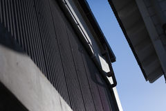 Downspout and gutters Royalty Free Stock Photo