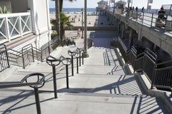 Downstairs plaża Zdjęcie Stock