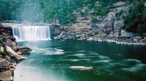 Downstream av Cumberland Falls 2 Royaltyfria Bilder
