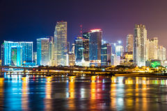 Downtown Miami cityscape  Royalty Free Stock Image